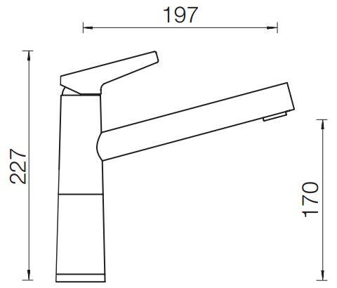 Объявления Смеситель Schock Sc-510 Cristadur Хром/Магнолия Фокино