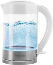 Фото Чайник Element El'Kettle glass white 2 WF09GW в магазине www.MagazinBT.ru