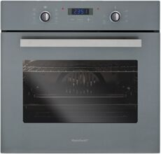 Фото Духовой шкаф Rainford RBO-4638PB, Grey (RAL7001) в магазине www.MagazinBT.ru