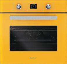 Фото Духовой шкаф Rainford RBO-5658PB, Yellow (RAL1006) в магазине www.MagazinBT.ru