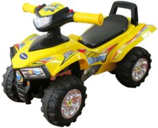 Фото Машина-каталка Sweet baby ATV Yellow в магазине www.MagazinBT.ru