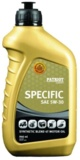 Фото Масло Patriot Specific High-Tech 5W30 SJ/CF, 946ml в магазине www.MagazinBT.ru