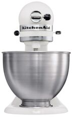 Фото Миксер KitchenAid 5K45SSEWH в магазине www.MagazinBT.ru