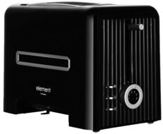 Фото Тостер Element El'Toaster FE01PB black в магазине www.MagazinBT.ru